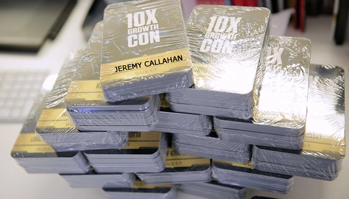 10x Growth Conference Jeremy Callahan